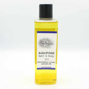 Babatunde Bath & Body Oil (for men)