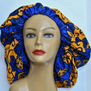 Buchi XL Ankara Silk Lined Bonnet