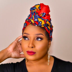 Nwakuso Satin Lined Ankara headwrap